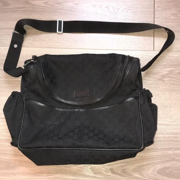 e1164ab73dd497 Gucci Bags | Diaper Bag In Black | Poshmark